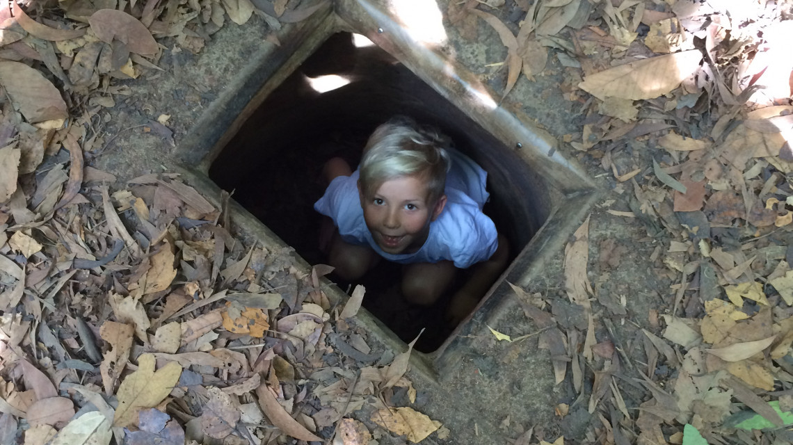 CU CHI TUNNEL BEN DUOC HALF DAY