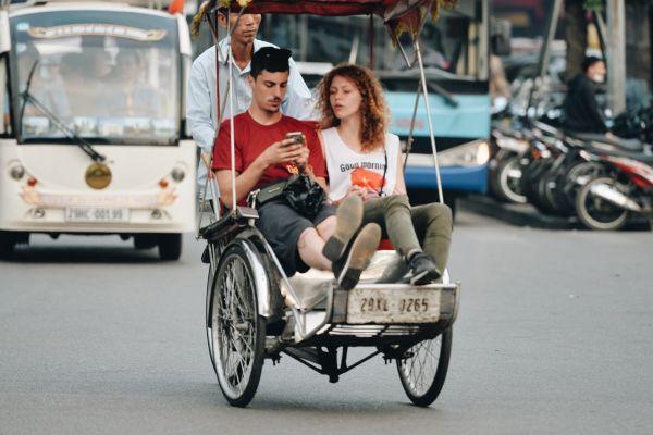 Vietnam Rickshaw - Shadows from the Past